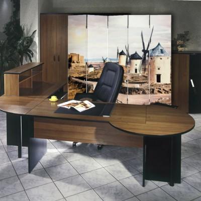 Ширма «Провинция» в офисе